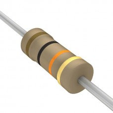 10K Ohm 5% 1/4W Through Hole Resistors (Pack of 10)