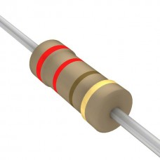 220 Ohm 5% 1/4W Through Hole Resistors (Pack of 10)