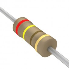 240 Ohm 5% 1/4W Through Hole Resistors (Pack of 10)