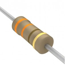 330 Ohm 5% 1/4W Through Hole Resistors (Pack of 10)
