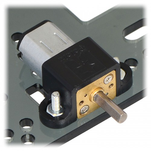 1000RPM @ 6V 30:1 Micro Metal Gearmotor HP 6V with Extended Motor Shaft 1.6A