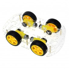 4WD Smart Car Chassis Kit
