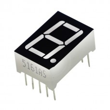 "0.56"" Single Digit 7-Segment Display (Red)"