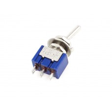 SPDT Micro Toggle Switch (125V 6A)