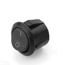 SPST Round Rocker Switch (2 Pin)