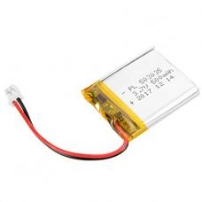 Lithium Ion Polymer (LiPo) Battery (3.7V 500mAh)
