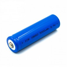 18650 Cell Lithium Ion Polymer (LiPo) Battery (3.7V 3000mAh)