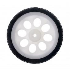 Thin Wheel for TT DC Gearbox Motors (White 65mm)