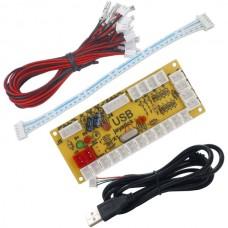 Zero Delay Arcade USB Encoder Kit (2.8mm Connector)