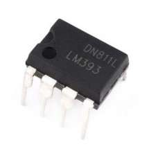 Dual Voltage Comparator (LM393)