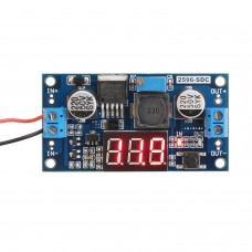 DC-DC Step Down Voltage Regulator with LED Display (LM2596)