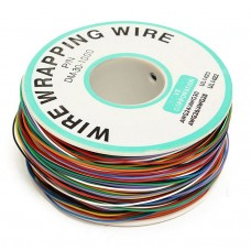 Rainbow Wire Wrap Thin 30 AWG (Prototyping and Repair Wire)