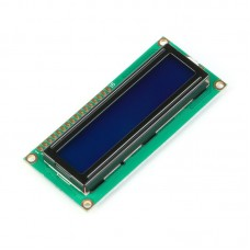 16x2 Character LCD Display Module (White on Blue Backlight 5V)
