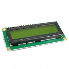 16x2 Character LCD Display Module (I2C Black on Green Backlight 5V)
