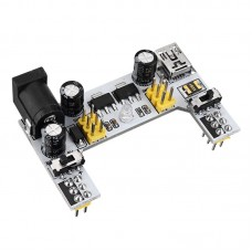 Dual Channel Breadboard Power Supply (5V/3.3V)
