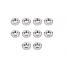 M4 Machine Hex Nut (Pack of 10)