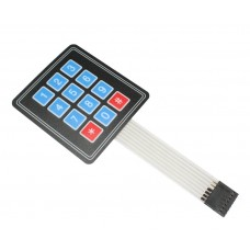 Membrane 3x4 Matrix Keypad