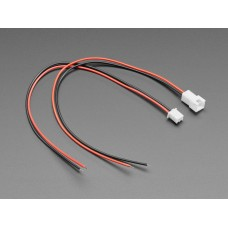 JST-XH 2.54mm Pitch 2-Pin Cable Matching Pair