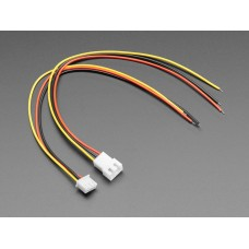 JST-XH 2.54mm Pitch 3-Pin Cable Matching Pair