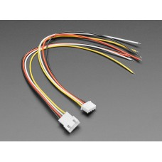 JST-XH 2.54mm Pitch 4-Pin Cable Matching Pair