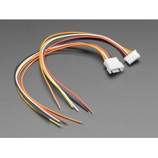 JST-XH 2.54mm Pitch 5-Pin Cable Matching Pair