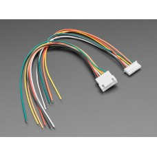 JST-XH 2.54mm Pitch 6-Pin Cable Matching Pair