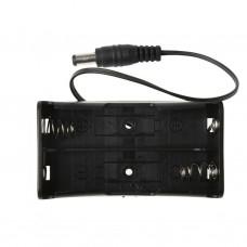 2 x 18650 Battery Holder (Barrel Jack Connector)
