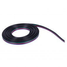 5-Pin RGBW LED Strip Extension Cable 20 AWG (10ft)